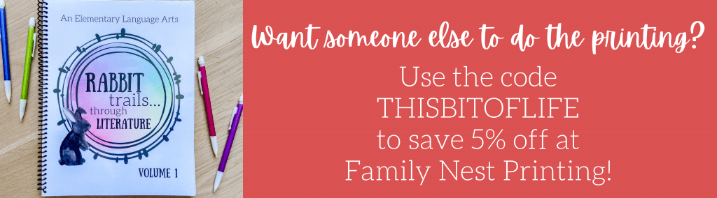 Family Nest Printing Discount
