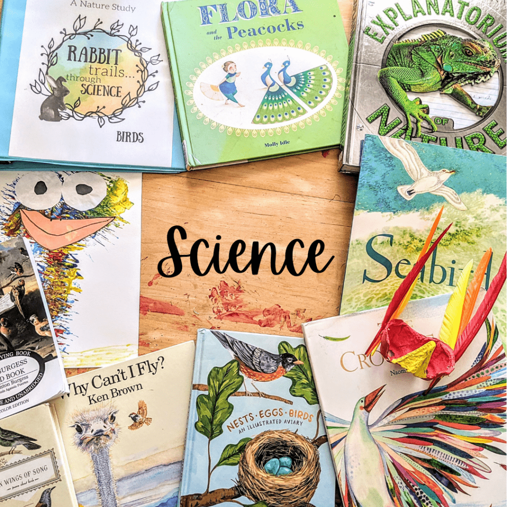 Rabbit Trails Science Curriculum. Literature based science curriculum for elementary age homeschoolers/