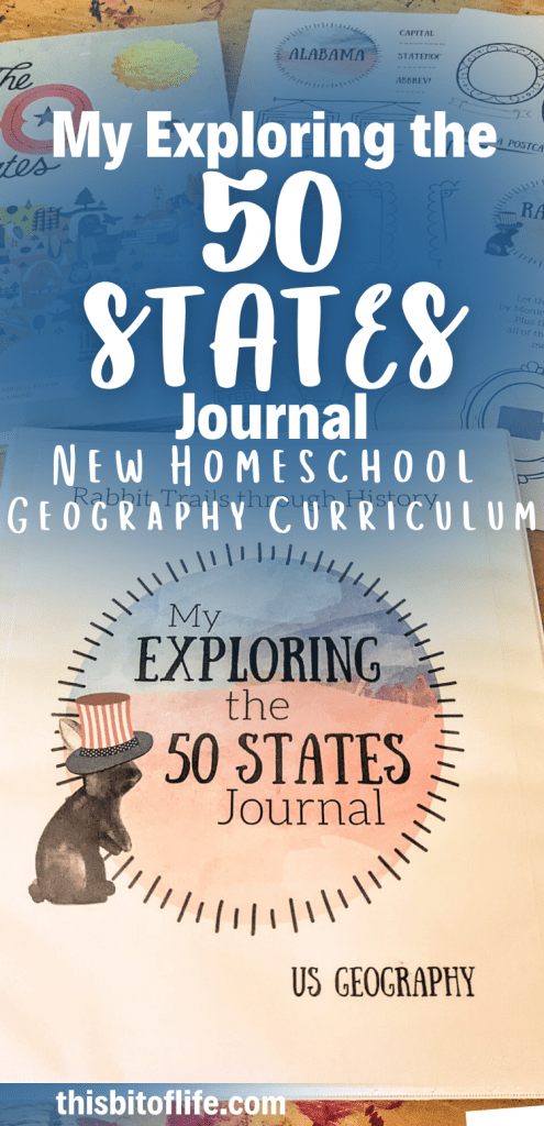 My Exploring the 50 States Journal is the new fun way to learn United States Geography in your homeschool! Geography curriculum to learn about the 50 states. Literature based geography homeschool curriculum. Elementary geography curriculum. Learning geography in your homeschool. Homeschool geography. Homeschool united states geography. #homeschool #geographycurriculum