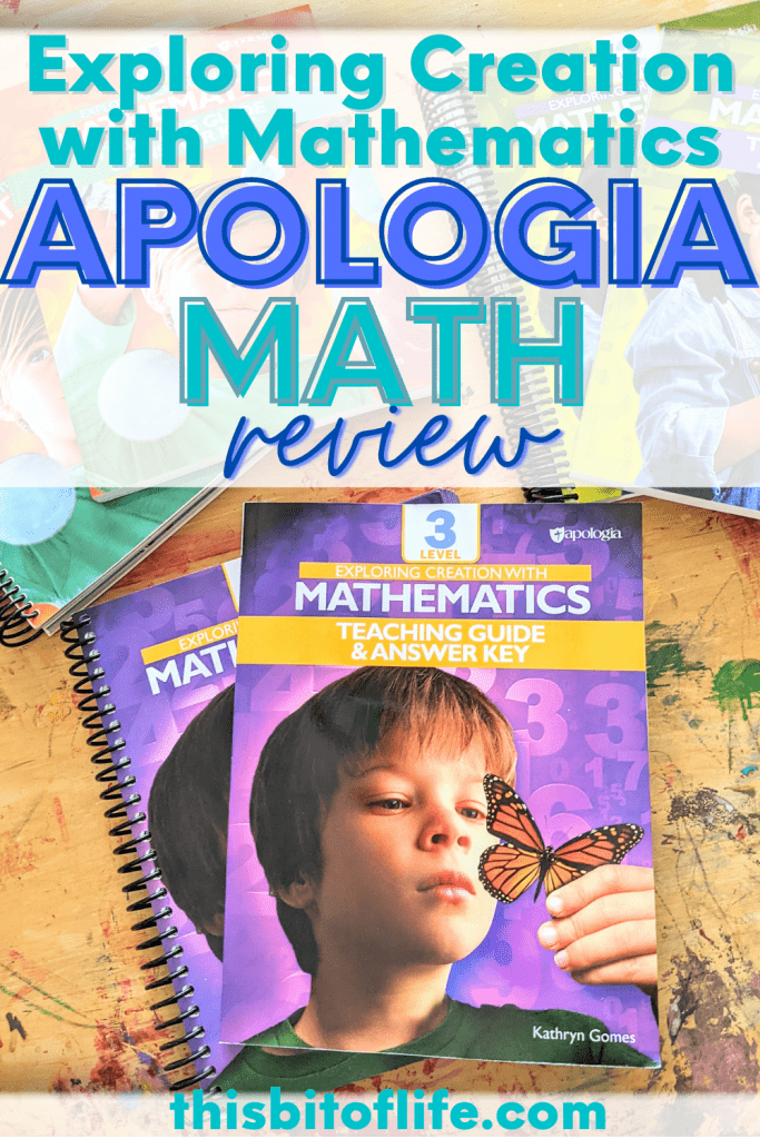 Apologia math, Exploring Creation with Mathematics is my new favorite math curriculum! Check out this hands on homeschool math curriculum for elementary age homeschoolers. Hands on homeschool math. Best math curriculum. Math curriculum for homeschoolers. Elementary math curriculum. Christian math curriculum. Faith based math. #apologia #homeschoolmath