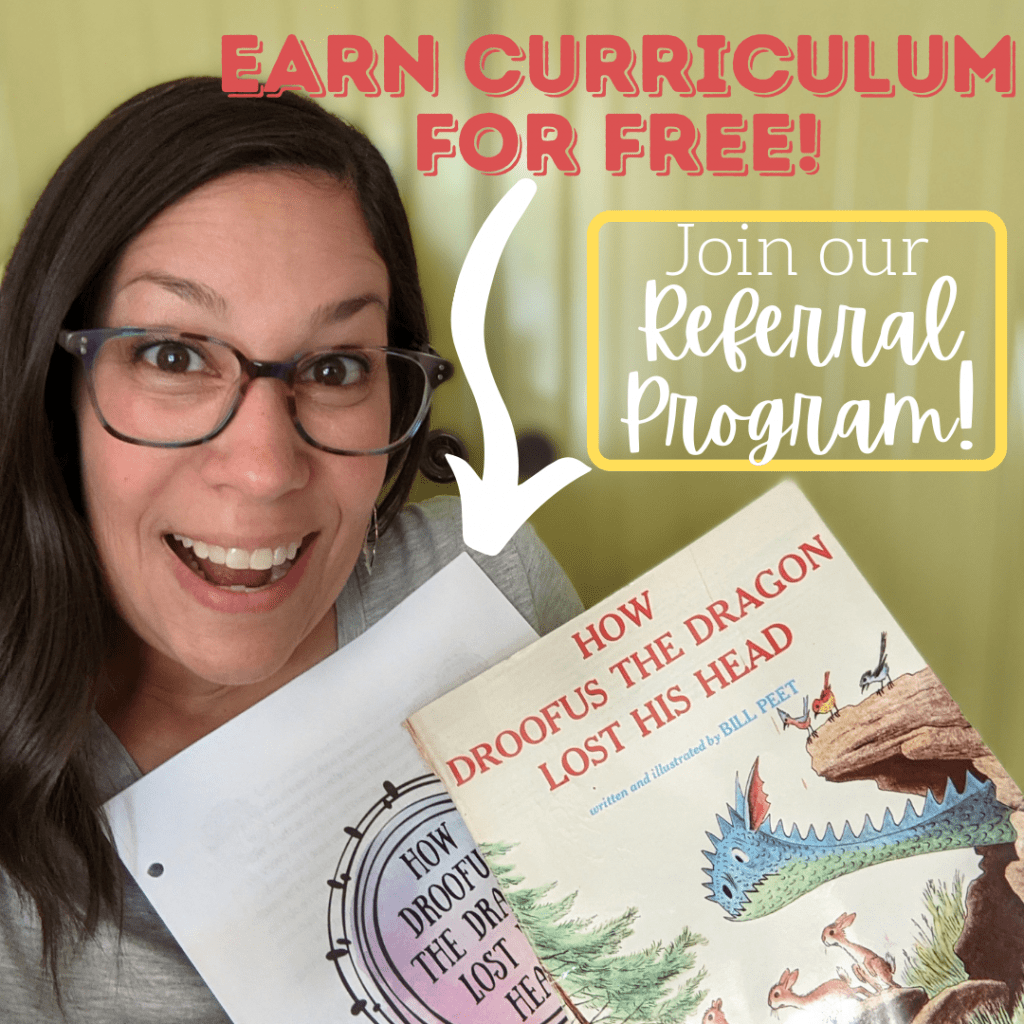 Earn Rabbit Trails curriculum for free by joinging our referral program!