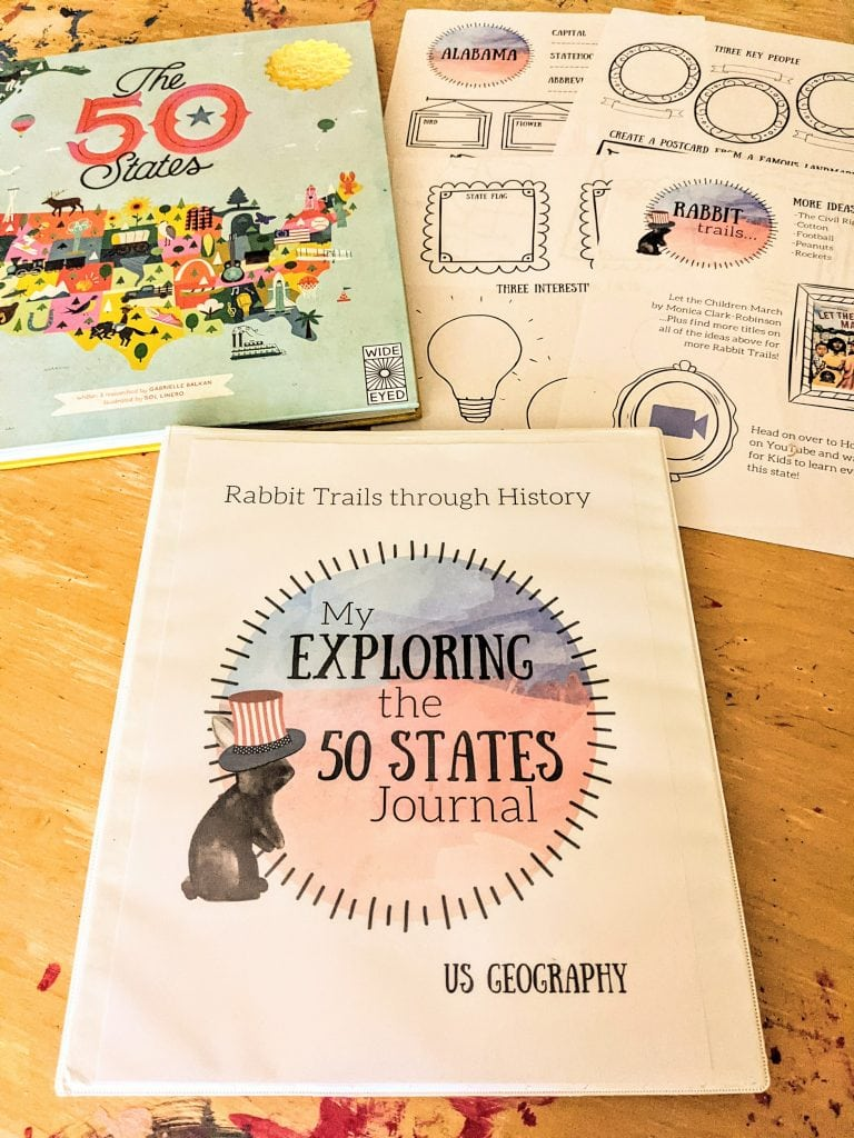 Geography curriculum to learn about the 50 states. Literature based geography homeschool curriculum. Elementary geography curriculum. Learning geography in your homeschool. Homeschool geography. Homeschool united states geography. #homeschool #geographycurriculum