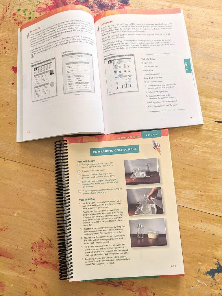 Apologia math parent guides make it super easy to teach math!