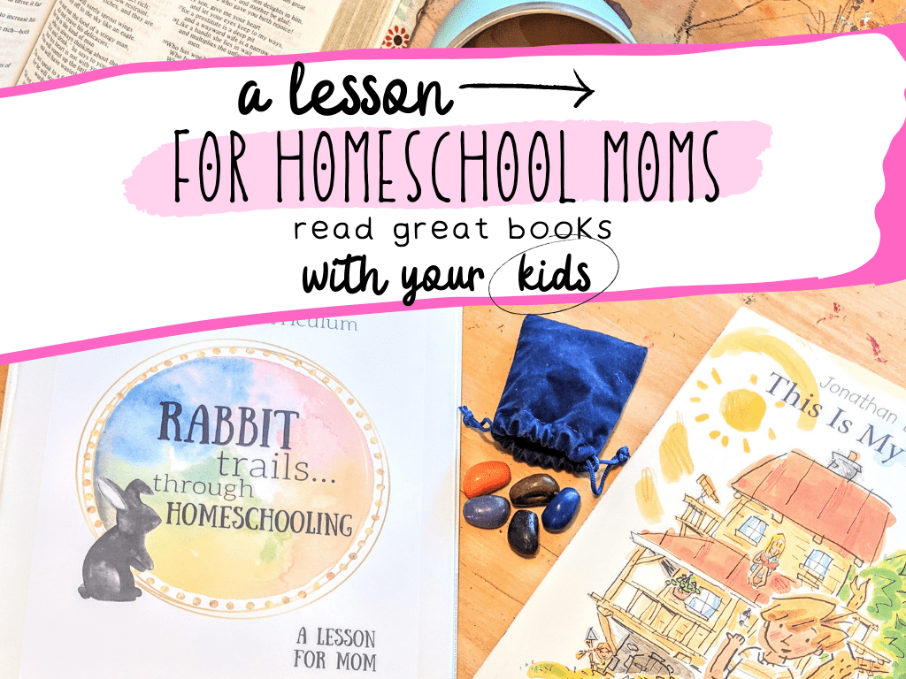 rabbit trails through homeschooling a lesson for moms
