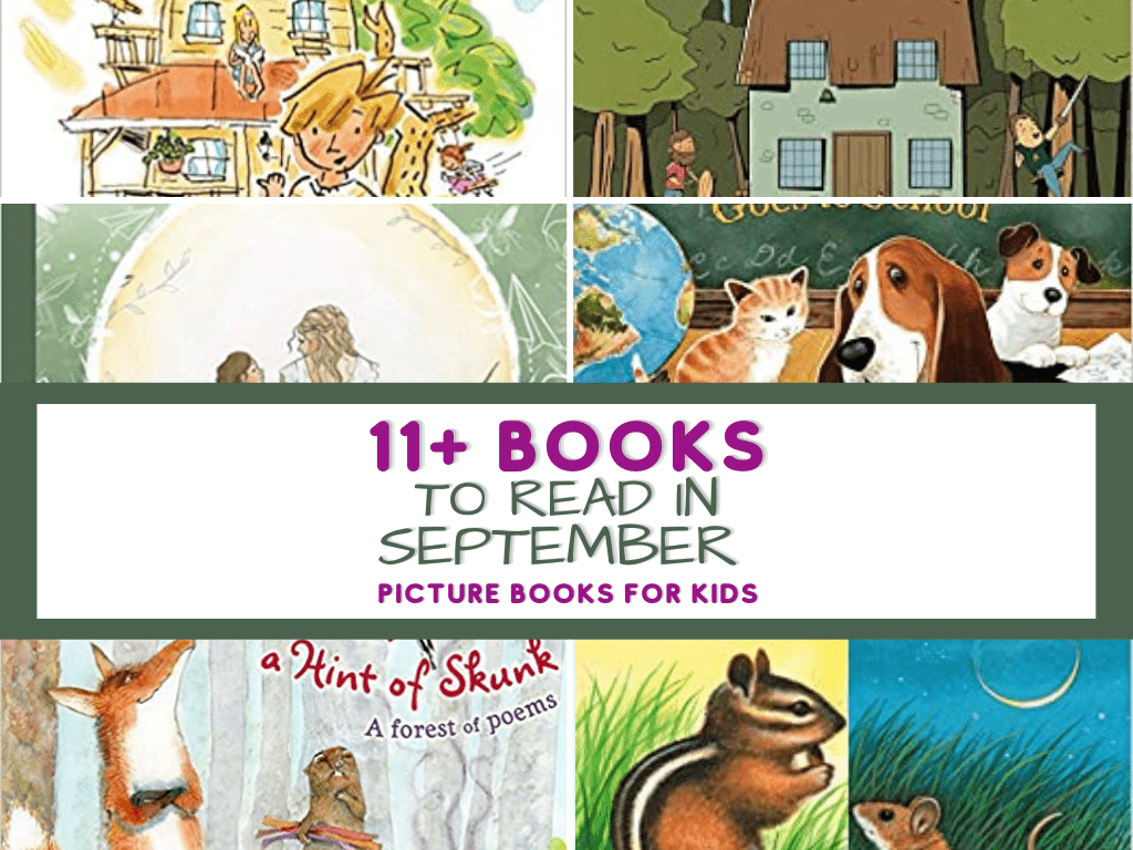 Books to read in September- Back to Homeschool Books and Wildlife Books for National Wildlife Day. Read in your homeschool with these amazing books. Picture Books for Kids. Picture Books for September. Back to school books. Wildlife books. Picture books to read with your kids. The best picture books for September. #homeschool #readaloud